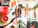 terrasse d'été planche d'inspiration summer time