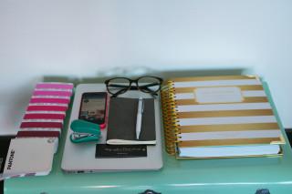 day designer inspiration décoration office bureau carnet projet