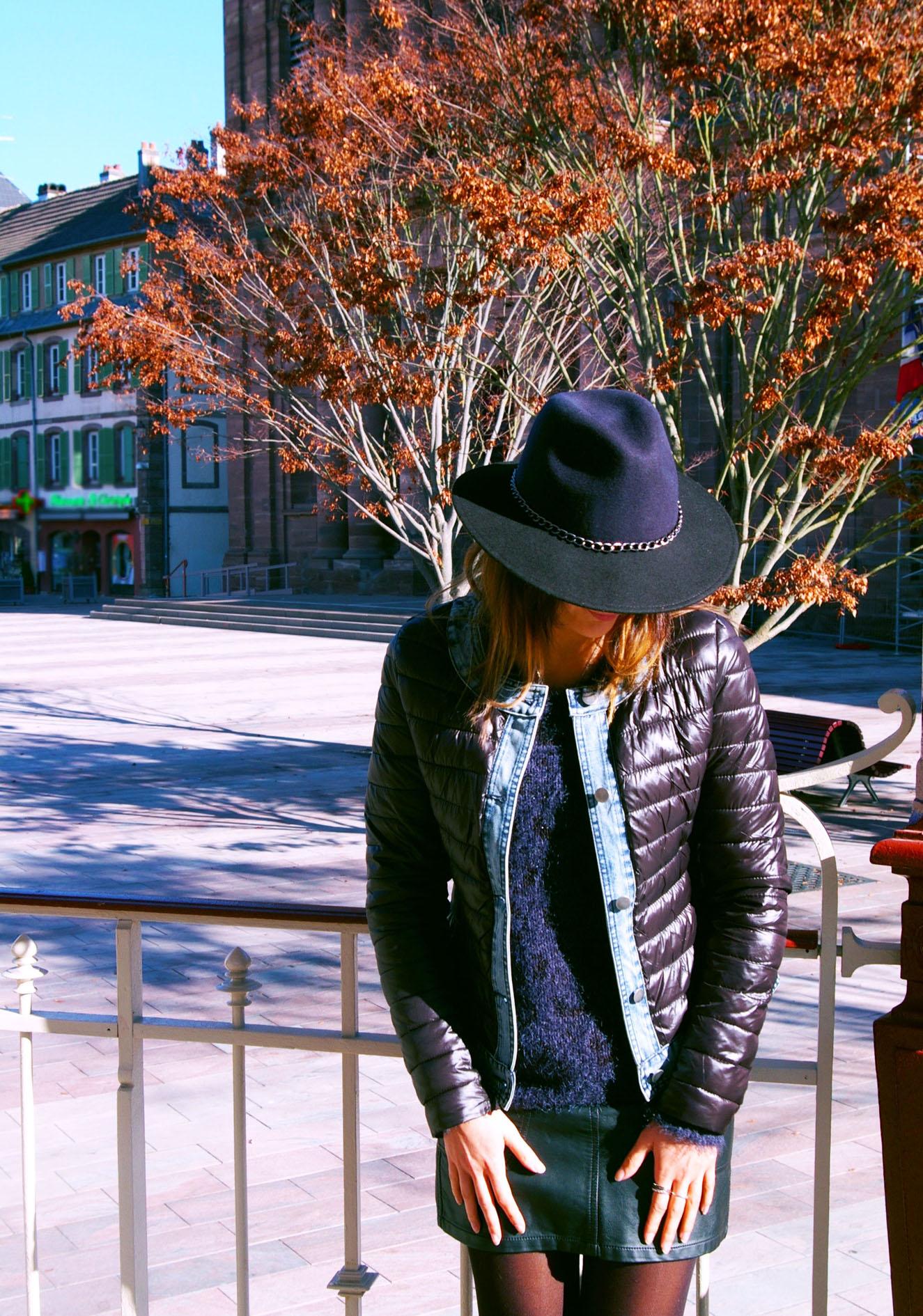 chapeau look automne blog mohanitab