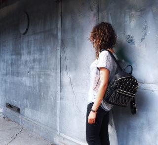Look de rentrée, automne 2016, sac a dos girly, femme, working girl