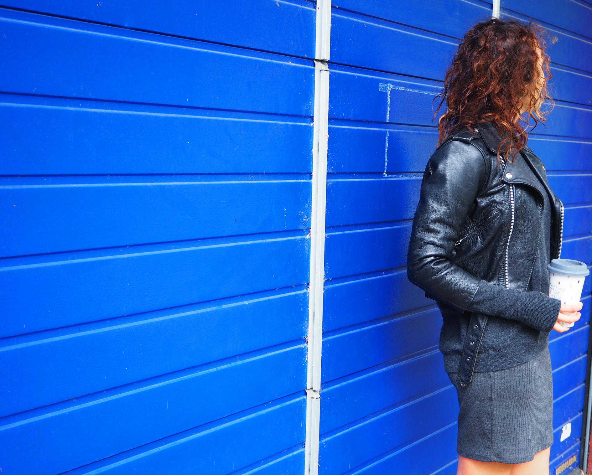 perfecto cuir look rock femme accessoire cuir look ten dances automne 2016