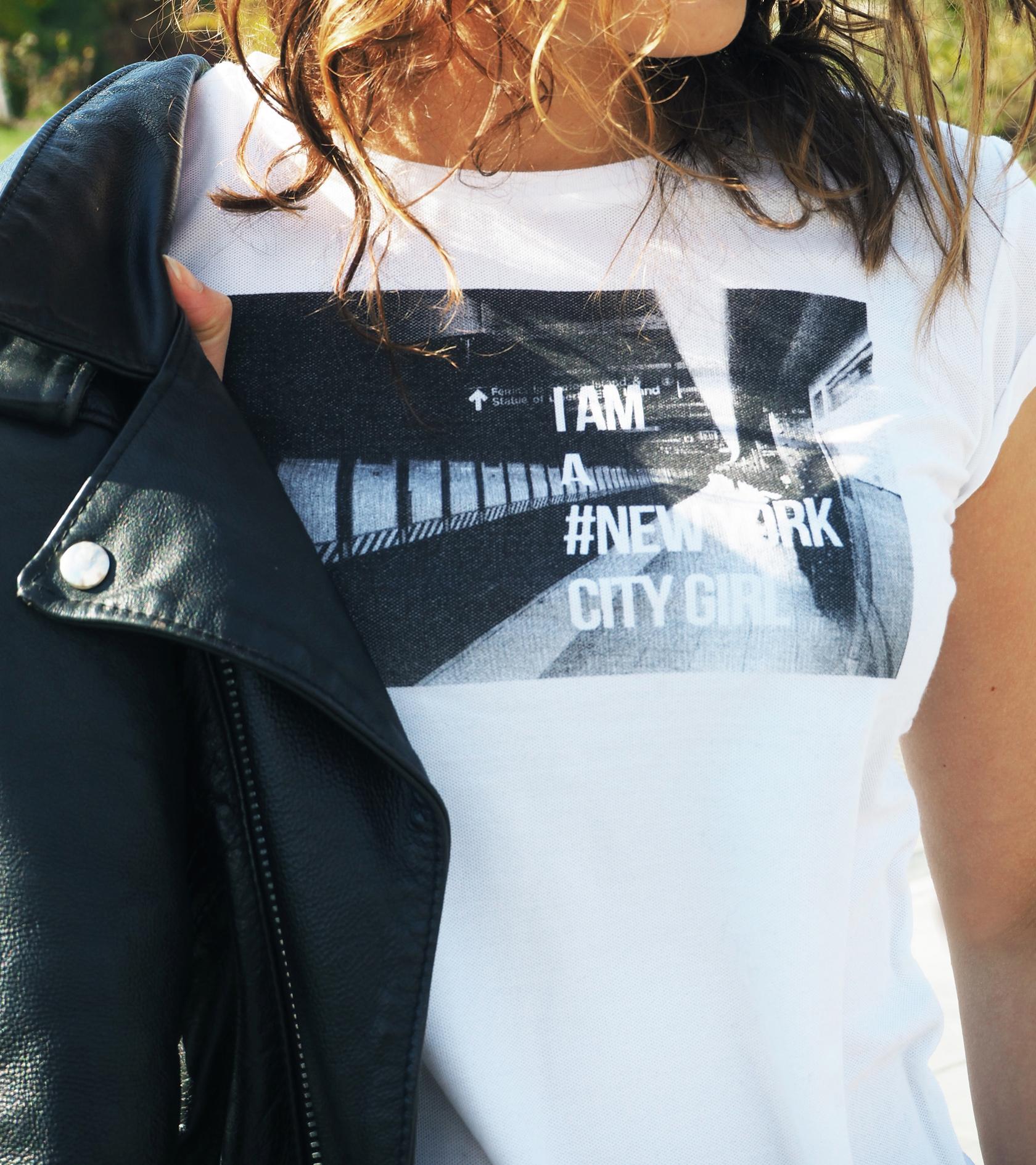 photoprint cache cache tee shirt ville moderne city girl
