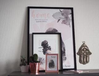 affiche collaboration pauline dress mohanita creations blogueuse mode besancon affiche déco