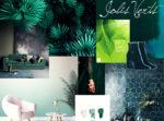greenery la couleur pantone 2017 planche de tendances trends moodboard nuancier verts green décoration loft mode pastels