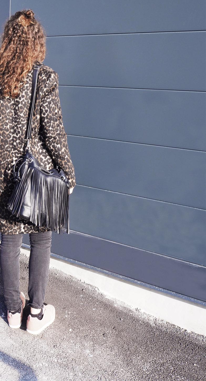 Manteau femme leopard kiabi