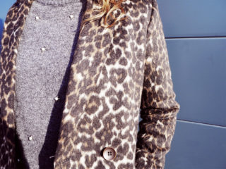 manteau leopard pull perle kiabi pinkie lifestyle mohanita creations girl boss working girl jean details automne hiver