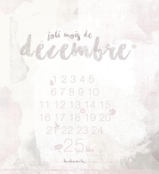 fond écran iPhone noel a telecherger free wallpaper calendrier de l'avent christmas time decembre graphiste graphisme design designer lifestyle