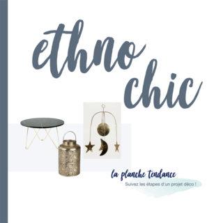 graphisme presentation projet graphique décoration intérieure design deco ethno chic table marbre lampe dorée suspension lune soleil etoile dorée tons nuances de bleus et vert