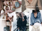 look boheme chic bijoux megan vlt chemise jean blouse blanche jean cuir sac mohanita creations cuir suede couleur sable